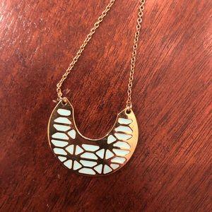 Stella & Dot reversible breeze block necklace